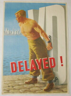 US Army Plakat VD - DELAYED!
