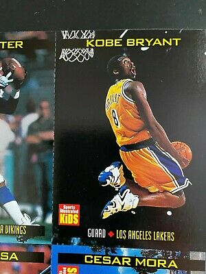 Kobe Bryant 1998 Sports Illustrated For Kids Card #739 (Lakers)