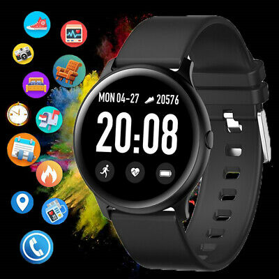 Smart Watch IP68 Waterproof Heart Rate Trackers Pedometer Sport Band Bracelet UK