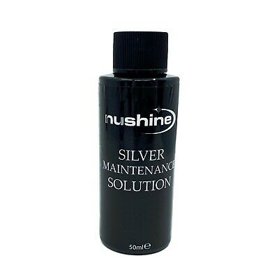 Nushine Silver Cleaning Maintenance Solution 50Ml - Renovate Your Silver Plate