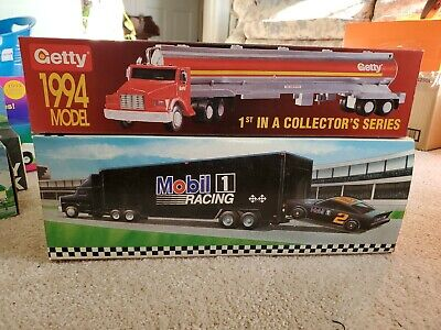 #1 Tanker AND #2 1995 Race CAR CARRIER GETTY OIL 1994