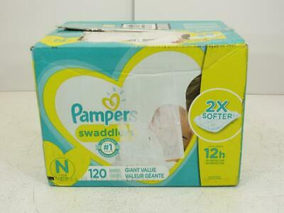 Pampers Swaddlers Disposable Diapers Giant Pack - Newborn (120ct)