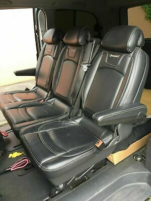 Mercedes Vito Sport X Brabus Leather Seats REAR BENCH WITH ARMREST!! 2004-2015