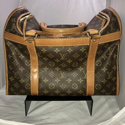 Vintage (1988) Authentic Louis Vuitton Monogram Pet Carrier (Used)
