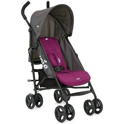 Joie Nitro Rosy Stroller/Buggy With Raincover