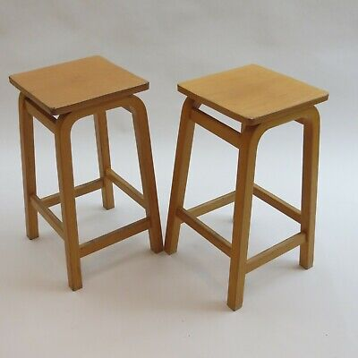 1970s Laboratory School Stools by James Leonard for Esavian UK ESA 2 available