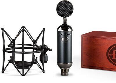 Blue Blackout Spark SL Studio Condenser Recording Microphone Mic+Shockmount+Box
