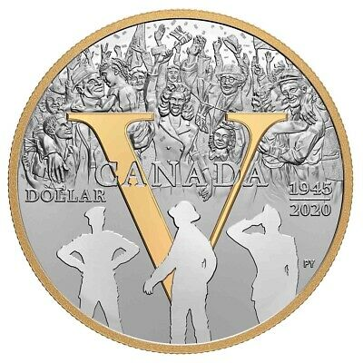 75th Anniversary of VE-Day - 2020 Canada Fine Silver Proof Set