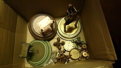 Joblot Of Old Anniversary Clock Parts
