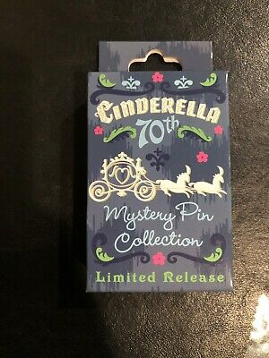 New Disney Cinderella 70th Anniversary Mystery Pin Box Limited Release 2020