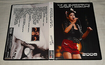 Amy Winehouse - Live 2008 at Glastonbury, Hyde Park London...DVD FAN EDITION