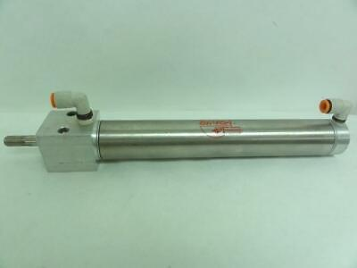 """187393 Used, Bimba D-81701-A-8 Cylinder, 1.5625"""" Bore, 7.5"""" Stroke"""