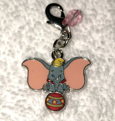 Disney Parks Charmed In The Park Dumbo With Ball  Charm