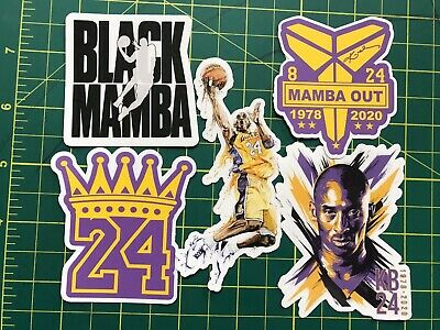 Kobe Bryant Lakers Mamba Out Nba Sticker Decal Die Cut