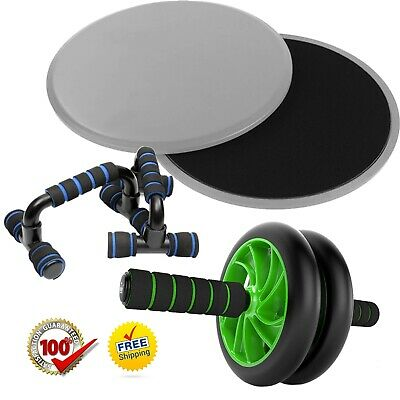 Sporteq Tricep Press Push Pull Down Revolving Straight Bar Handle Multi Gym Cable Attachment with Rubber Handle Black 20 Inches