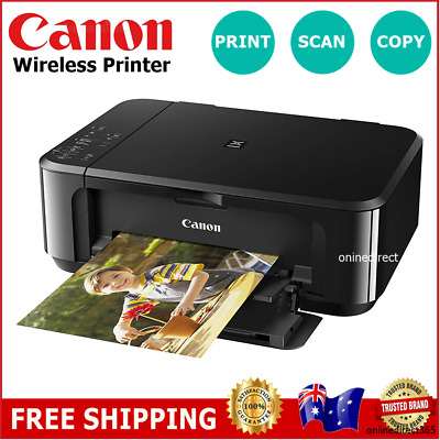 Canon Wireless Printer Print Scan Copy Multifunction Ink Cartridge Home Student