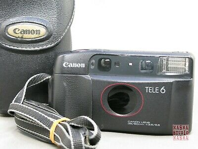 [Exc+5] Canon Autoboy TELE6 DATE Bifocal lens Point&Shoot 35mm Film Camera From
