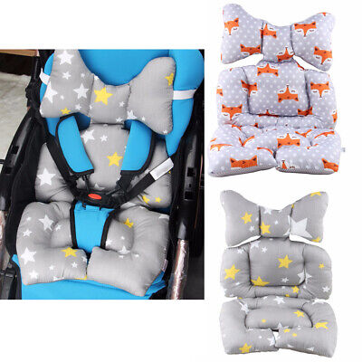 Baby Stroller Seat Cushion Mat Soft Mattress Pad for Stroller Car High Chair Mat