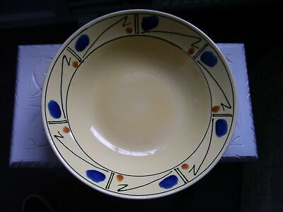 Poole Pottery Omega By Fenella  Large Bowl 12 3/4 Inch Diameter