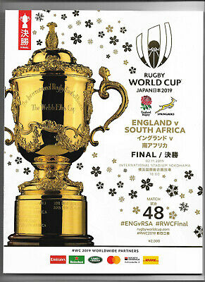 2019 Rugby World Cup Final - SOUTH AFRICA v. ENGLAND