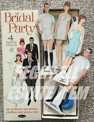 5051 1995 Shackman Brides From Around The World Cut-Out Paper Doll Book