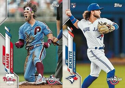 2020 Topps Opening Day Baseball Cards Base Team Set You Pick From List