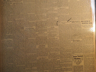 Titanic Ship Newspaper 1912 WOMAN SUFFRAGE AND TITANIC DISASTER EDITOR LETTER