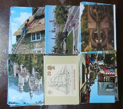 Lot Of 50 Large Art & Craft Postcards , Usa & Foreign  , Posted And Unposted