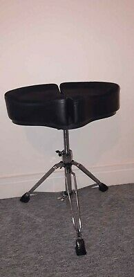 Ahead Spinal-G Drum Throne (Seat + Base Stand) - Black - Excellent Condition