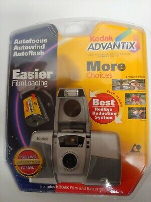 Kodak Advantix C400AF APS Point & Shoot Film Camera