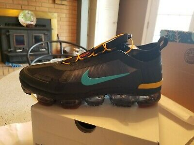 Nike Air Vapormax2019 Utility Athletic Shoes Men Size12Dnib Off Noir/Teal/Black
