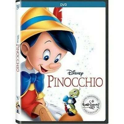 Pinocchio (DVD, 2017) New & Sealed Slipcover Included Free Shipping