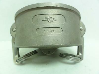 """188161 New-No Box, PT 40V Coupler Dust Cap, Camlock Fitting, 4"""" Size"""