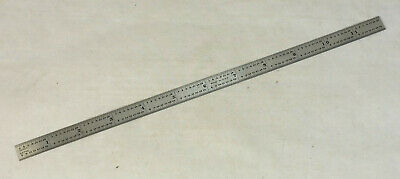 """General 1216 12"""" Precision Stainless Steel Rule Ruler"""