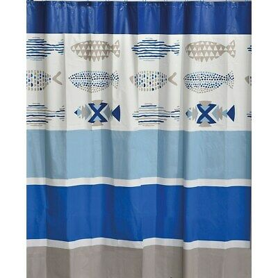 Custom Nautical Navy Blue Anchor Shower Curtain 60x72 inch Color9 New