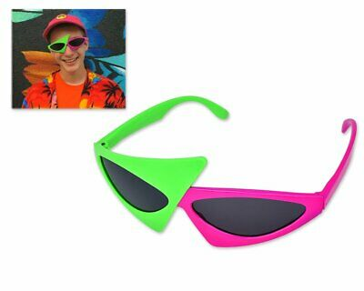 Novelty Party Sunglasses 80s Asymmetric Glasses Hip Hop Dance DISTINCTIVE STYLE