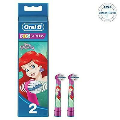Oral-B Stages Kids Electric Toothbrush Replacement Heads Disney Princess, 2 Pack