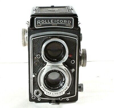 Rolleicord Va Twin Lens Reflex (TLR) Camera Model K3E Type 2 1958