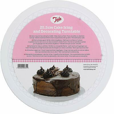 Tala Cake Icing and Decorating Turntable, Steel