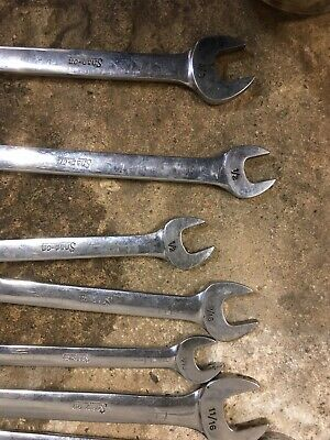 Snap on spanners x11