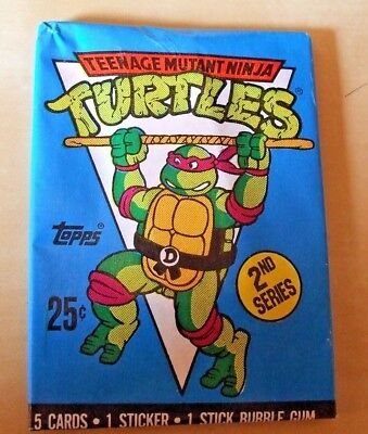 C1370 Michaelangelo#3 Teenage Mutant Ninja Turtles Series 2 Topps 1990 Sticker