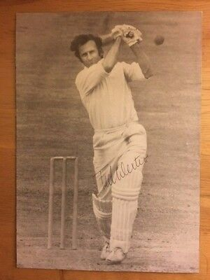 TED DEXTER - Hand signed autograph - Photograph