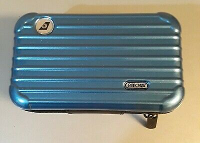 Rimowa Special 2018 Blue Edition Eva Air Amenity kit Case (toiletry Not included
