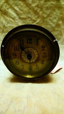 Old British united clock company Ltd Clock Movement In Ticking Condition