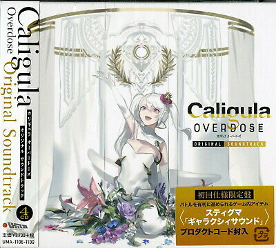 Ost-Caligula Overdose-Japan 4 CD Ltd / Édition I71