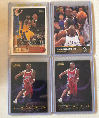 KOBE BRYANT rookie RC lot Topps + Lakers Mamba HOF