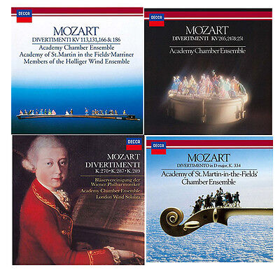 Academy Of St Martin In The Fields Chamber Ensemble-Lot Of 4 Cd-Japan Cd Set 182
