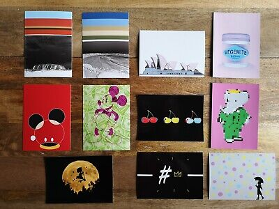 Art Print by dom - Lot of 11 A6 premium postcards