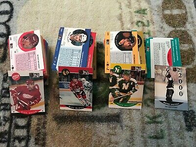 1990-91 NHL Pro Set - Lot (310) Ice Hockey Cards Singles & Duplicates