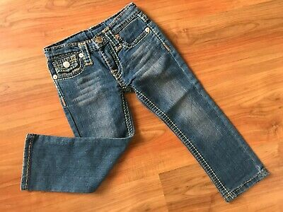 Boys AUTHENTIC Blue TRUE RELIGION JOEY JEANS (age3-4) *NICE COND*